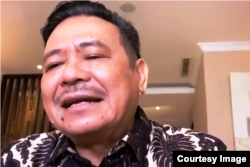 Otto Hasibuan, Ketua Umum DPN Peradi. (Foto: Nurhadi/VOA)