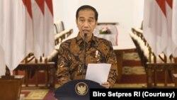 Presiden Indonesia Joko Widodo (foto: dok).