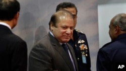 나와즈 샤리프 파키스탄 총리 (자료사진)