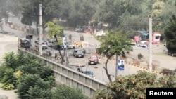 کابل میں امریکی سفارت خانے کے قریب خودکش دھماکہ