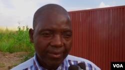 Graça Manuel, secretário-geral provincial do Sinprof em Malanje