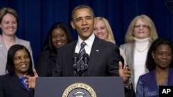 Aksariyat saylovchi ayollar prezident Obamani qo'llab-quvvatlaydi