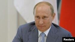Russian President Vladimir Putin in Sochi, July 28, 2012.