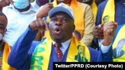 Bayi PPRD na likita ma Kinshasa, RDC, 11 juillet 2020. (Twitter/PPRD)