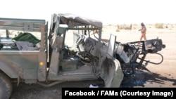 """Au moins quatorze soldats maliens ont été tués samedi lors d'une attaque contre leur camp militaire dans le noed du Mali, a annoncé l'armée malienne en évoquant une action de """"terrorisme"""", 27 janvier 2018. (Facebook/FAMa)"""