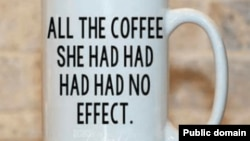 This grammar meme has become popular on coffee mugs and clothing, such as t-shirts and sweatshirts.
