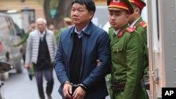 Ông Đinh La Thăng bị khai trừ khỏi đảng hôm 9/5.