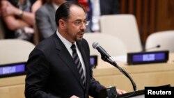 Menteri Luar Negeri Afghanistan Salahuddin Rabbani (foto: dok).