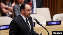 افغان وزیر خارجہ صلاح الدین ربانی (فائل فوٹو)