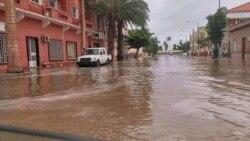 Chuvas inundam cidade do Namibe - 2:25