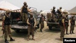 """Quân đội Pakistan phát động chiến dịch Zarb-e-Azb ở Waziristan hồi tháng 6 và cho biết cho đến nay đã """"tảo thanh 90% lãnh thổ"""" của các phần tử khủng bố."""