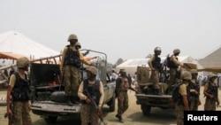 Pasukan Pakistan dalam operasi militer di wilayah kesukuan Khyber (foto: dok).