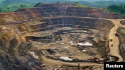 Une vue de la mine de Tenke Fungurume , à 110 km au nord-ouest Lubumbashi, dans le sud-ouest de la RDC (Archives)