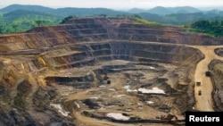 La mine de Tenke Fungurume, à 110 km au nord-ouest de Lumumbashi, en RDC. REUTERS/Jonny Hogg