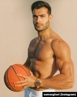 سیم اصغری اداکار ہونے کے ساتھ ایک فٹنس ٹرینر بھی ہیں۔
