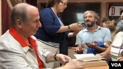 Михаил Веллер на встрече с читателями