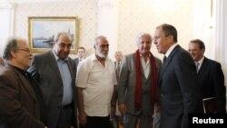 Сергей Лавров встретился накануне с представителями сирийской оппозиции