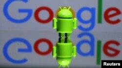 A 3D printed Android mascot Bugdroid