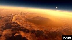 مریخ کی سطح