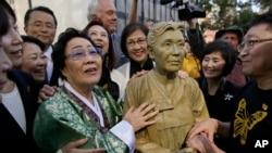 89岁的前慰安妇李容洙。
