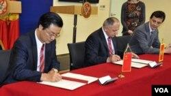 Potpisivanje sporazuma u Crnoj Gori, 11. mart 2013.
