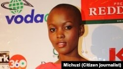 Flaviana matata Miss Universe Tanzania 2007/2008.