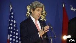ທ່ານ John Kerry ລັດຖະມົນຕີການຕ່າງປະເທດ ສະຫະລັດ.