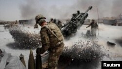 US Army artilary