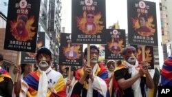 Мирный марш в Тайбэе, Тайвань. 10 марта 2013 года