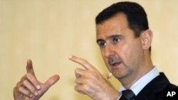 Según la oficina de la presidencia en Damasco, Assad no hizo tales declaraciones a Interfax.