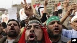 صدر مرسی کے حامیوں کا ایک مظاہرہ