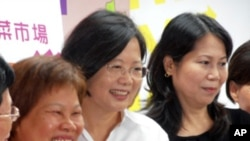 台灣民進黨主席蔡英文的競選活動