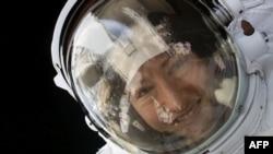 L'astronaute américaine Christina Koch