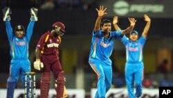 بھارت نے ویسٹ انڈیز کو80رنز سے ہرا دیا