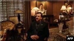 Pakistanski premijer Jusuf Raza Gilani tokom intervjua za agenciju AP, 5. decembra 2011.