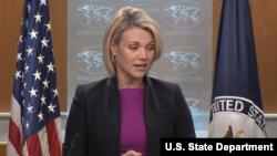 La portavoz del Departamento de Estado, Heather Nauert, dice que se está buscando una respuesta coordinada al ataque químico en Siria.