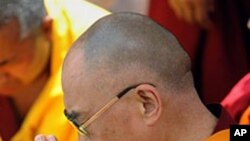صدر اوباما دلائی لاما سے ملاقات نہ کریں: چین کا اصرار