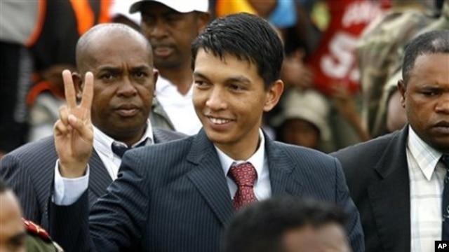 President Andry Rajoelina (file photo)