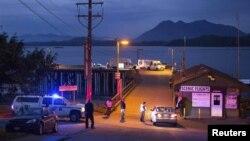 Dermaga kapal yang menyediakan layanan pelayaran untuk menyaksikan paus di Kanada (Foto: dok).