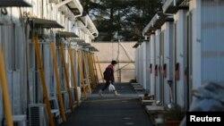 1일 일본 후쿠시마현 다무라 시 미야코지 지구의 임시 거주지. 일본 정부가 원전사고 이후 처음으로 미야코지 일부 지구에 대한 피난 지시를 해제했다.