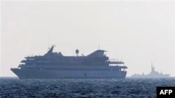 Թուրքական «Մավի Մարմարա» նավը (արխիվային լուսանկար)