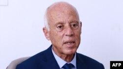 تیونس کے صدارتی امیدوار قیس سعید