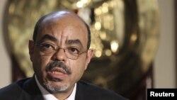 Thủ tướng Ethiopia Meles Zenawi (hình chụp ngày 17/9/2011)