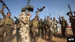 Бойцы иракских сил безопасности