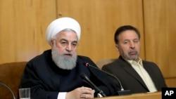 အီရန္သမၼတ Hassan Rouhani (ဧၿပီ၊ ၂၄၊ ၂၀၁၉)