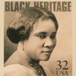Madam C.J. Walker, 1867-1919: Developed Hair-Care Products for Black Women