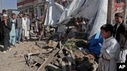 10月27日阿富汗爆炸现场
