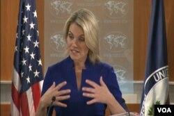 Heather Nauert, Juru Bicara Departemen Luar Negeri AS.