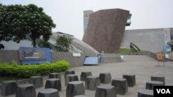 十三行博物館(美国之音杨晨拍摄)