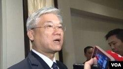 台灣國防部副部長夏立言。(視頻截圖)